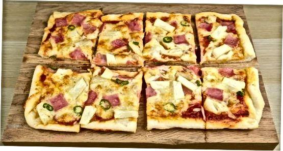 Pizza pishirish va xizmat qilish