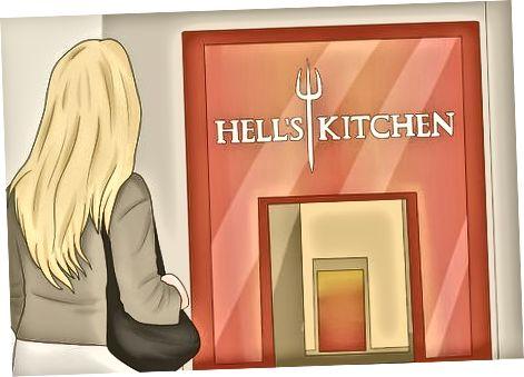 Marrja e biletave në Hell's Kitchen