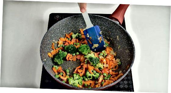 Maggi med grønnsaker