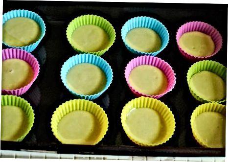 Oddiy shakar muffins