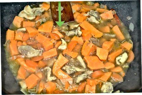 De stoofpot maken