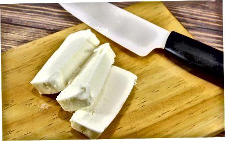 Vendosja e gjalpit në frigorifer