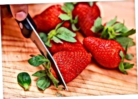 Ferske jordbær- og kremlollier