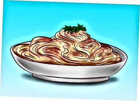 Kola bilan spagetti / makaron