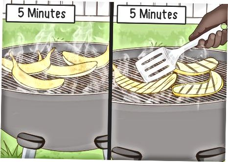 Grilling Plantains