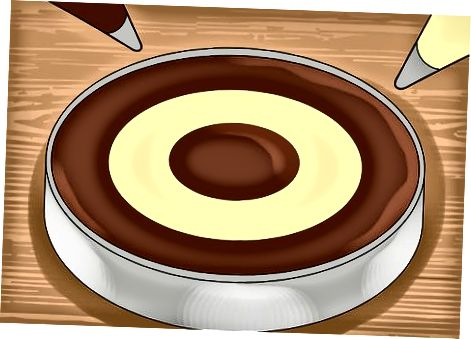 Qatorlarni tortib, katakli kek qilish