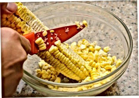 Erstellen von Southern Creamed Corn