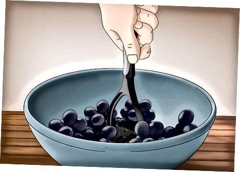 Blanding av vinen