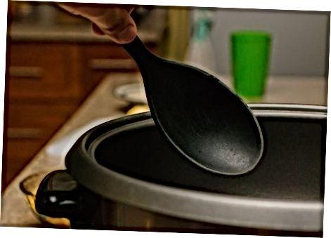 Erstellen von Rahmmais im Slow Cooker