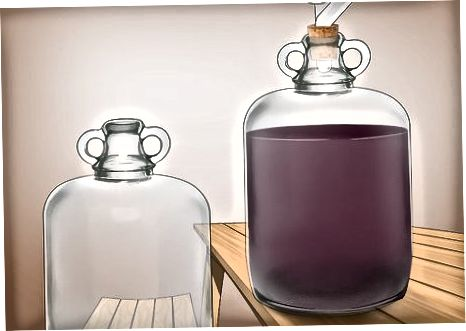Racking the Wine