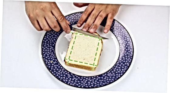 Peshindan keyin choy murabbo sendvichi