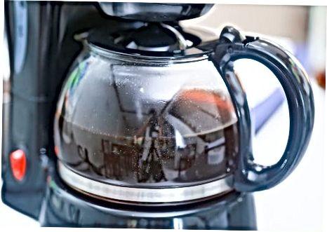 Uporaba kuhane kave