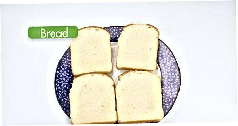 Grilli murabbo va qaymoqli pishloqli sendvich