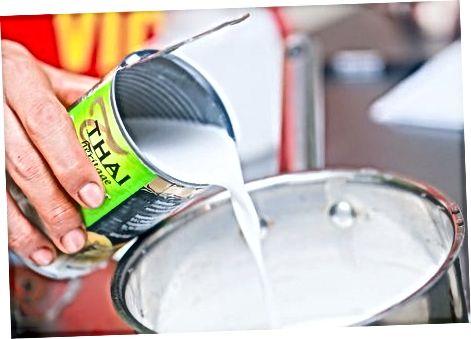 Methode twee: verdikte kokosyoghurt