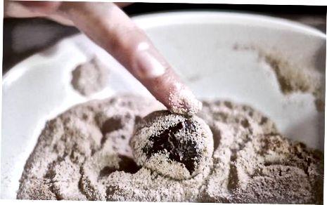 De chocoladetruffel maken