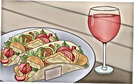 Упаривање црног вина са храном