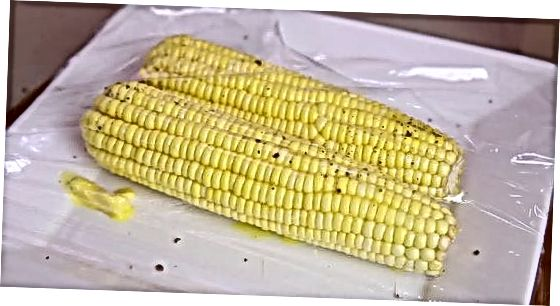 Mikrobangų kramtyti kukurūzai