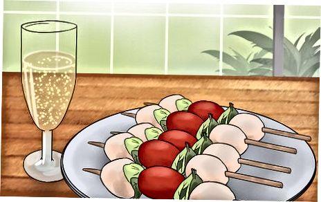 Упаривање белог вина са храном