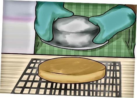 Utilitzant un llançament de pastissos líquids