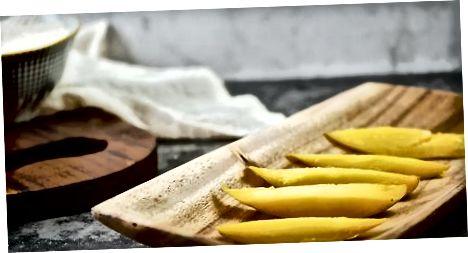 Elaboració d'arròs enganxós de mango