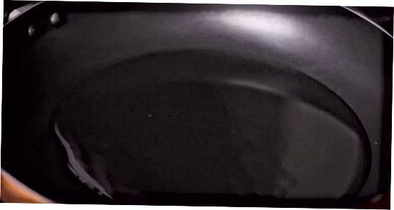 Cozinhar os anéis de cebola