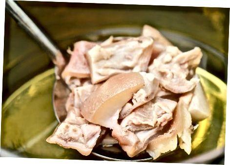 पारंपारिक डुकराचे मांस तयार शैली-शैली चेचरिनेस