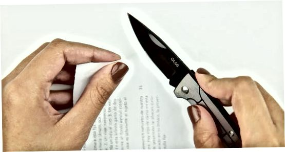 Оштрење ножа каменом