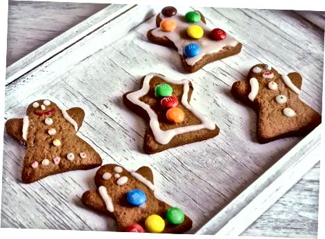 לקשט את העוגיות