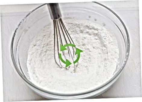 Blanding av ingrediensene