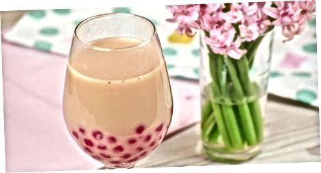Dodatne vrste mlečnega čaja