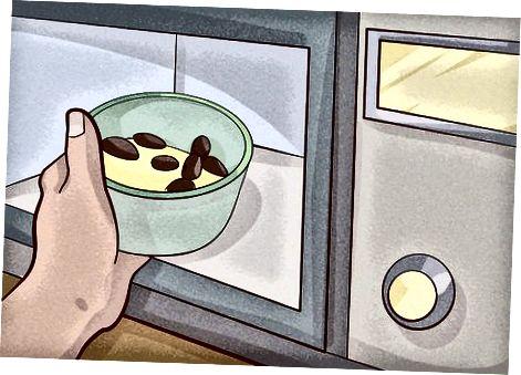 Coure Brownies en un microones