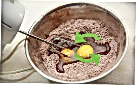 Sutli shokolad kekini tayyorlash