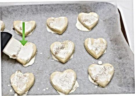 Baking og servering av kjeksene