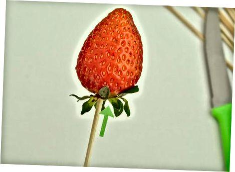 Створення базової квітки полуниці
