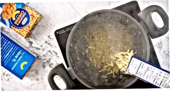 Izdelava standardnih kraftnih makaronov in sira