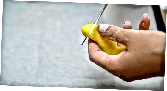 Izdelava bonbonov iz limonske kapi