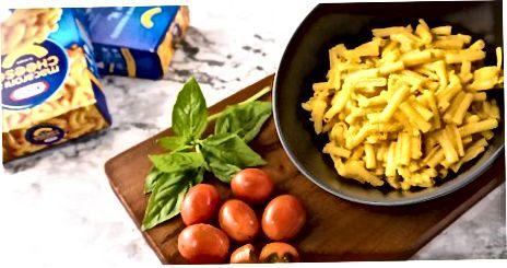 Nadgradnja kraftnih makaronov in sira