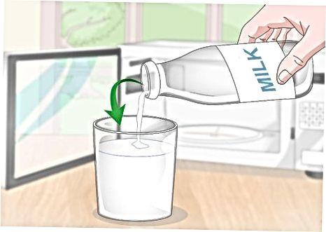 Microones de la llet per veure si està malament