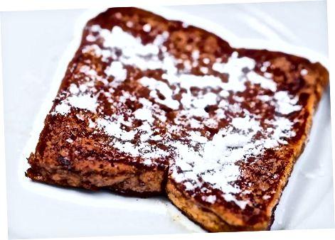 Shokoladli frantsuz tosti