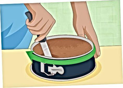 Охлаждение и подача торта