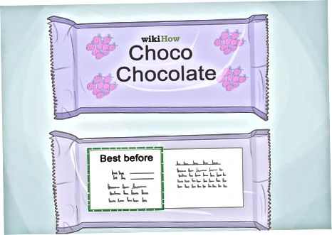Огляд упаковки шоколаду