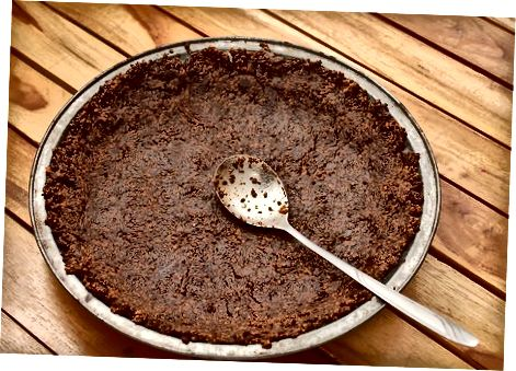 De taartkorst maken