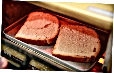 تهیه نان تست
