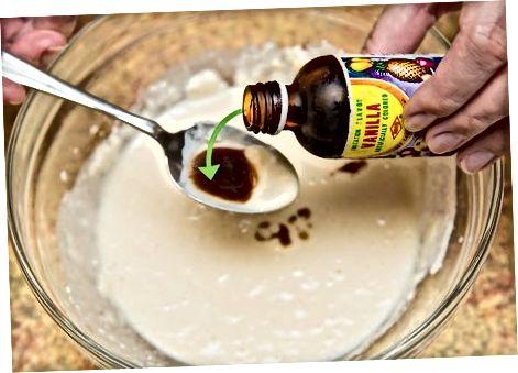 Linų sėmenų veganiškų blynų gaminimas