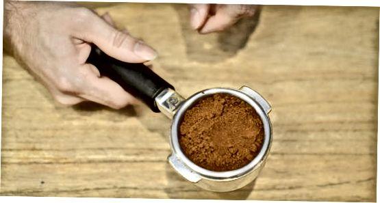 Përdorimi i një mulli Burr (mulli Espresso)