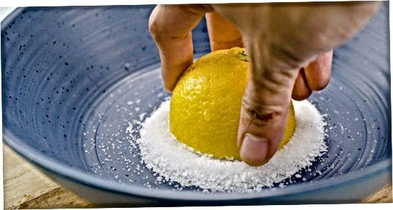 Limon va tuz bilan ovish