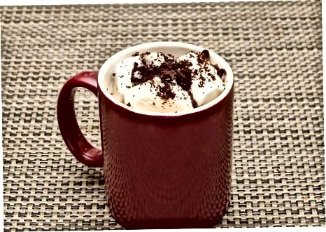 Faire du chocolat chaud Oreo simple