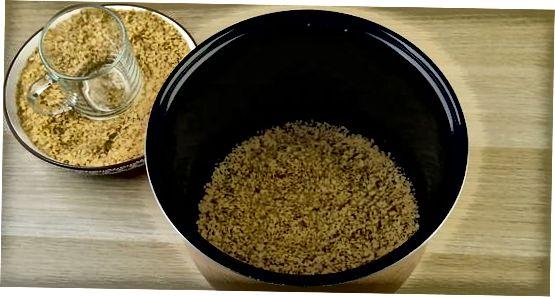 ბულგურის ნელი გაზქურის დამზადება