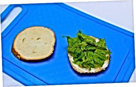 Sandviçlarni tishlash BLT