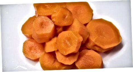 Морква на пару